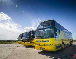 tarptautiniai ecolines autobusai