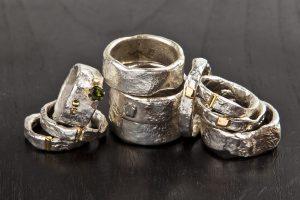 sidabriniai papuošalai