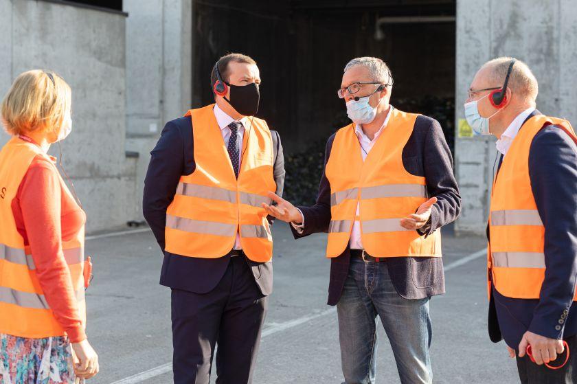 Į Vilnių užsukęs Europos Komisijos narys domėjosi užstato sistemos veikla