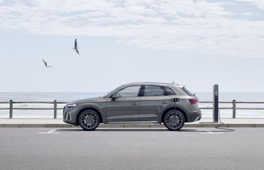 """""""Audi"""" siūlo itin platų įkraunamų hibridinių modelių pasirinkimą Lietuvoje"""