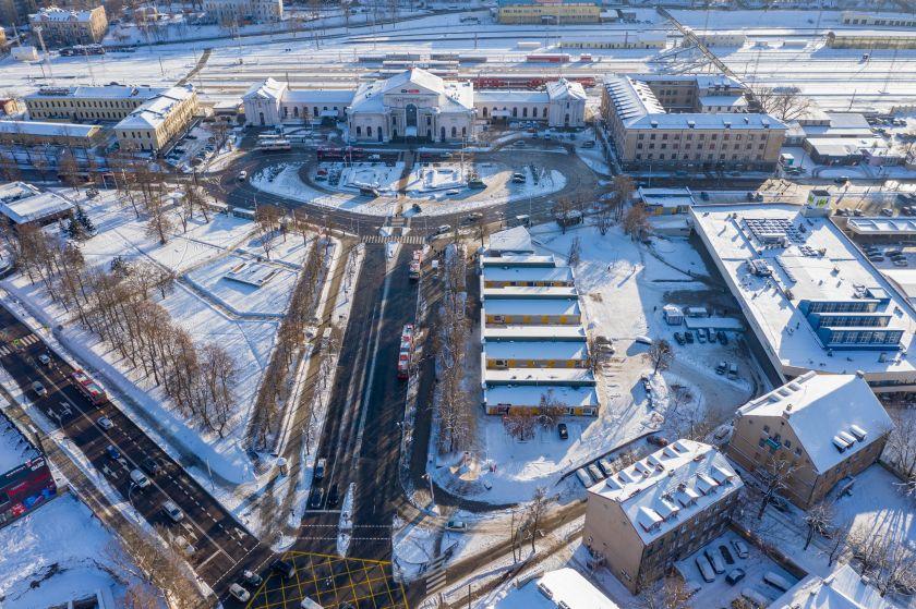 Vilnius kviečia pasaulio architektus: skelbiamas konkursas stoties teritorijai pertvarkyti