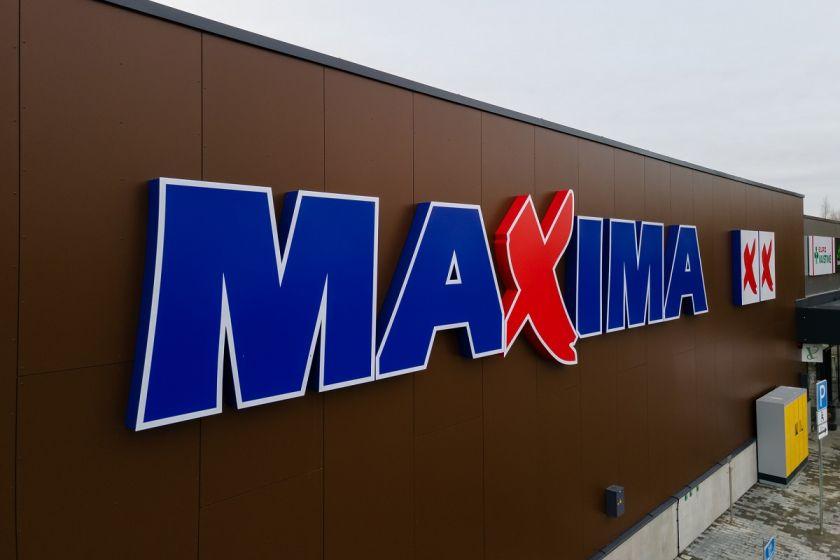 """Bus uždaryta Vilniuje, Rinktinės gatvėje, įsikūrusi """"Maximos"""" parduotuvė"""