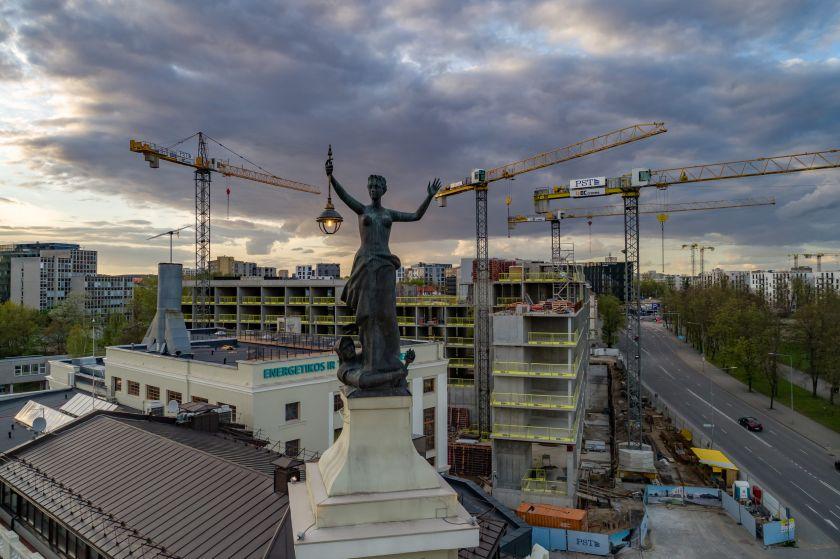 Vilniuje siūloma mažinti dalį infrastruktūros mokesčių