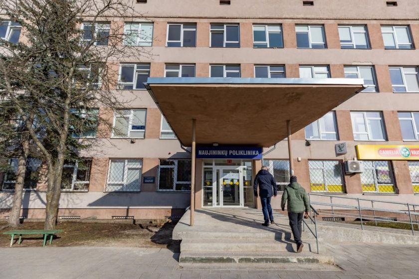 Vilniuje apsispręsta dėl keturių Vilniaus poliklinikų reorganizavimo