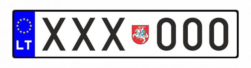 """Seimo nario Andriaus Kupčinsko pranešimas: """"Vyčio ženklas galėtų atsirasti ant automobilių valstybinių numerių"""""""