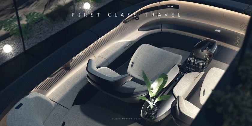 """""""Audi Grandsphere"""": pirmąja klase ateities link"""
