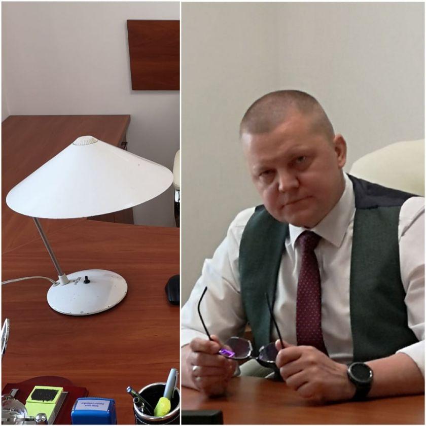 """Seimo nario Dainiaus Gaižausko pranešimas: """"Ar padės lempa Šimonytei atkreipti dėmesį į nacionalinio saugumo grėsmes?"""""""